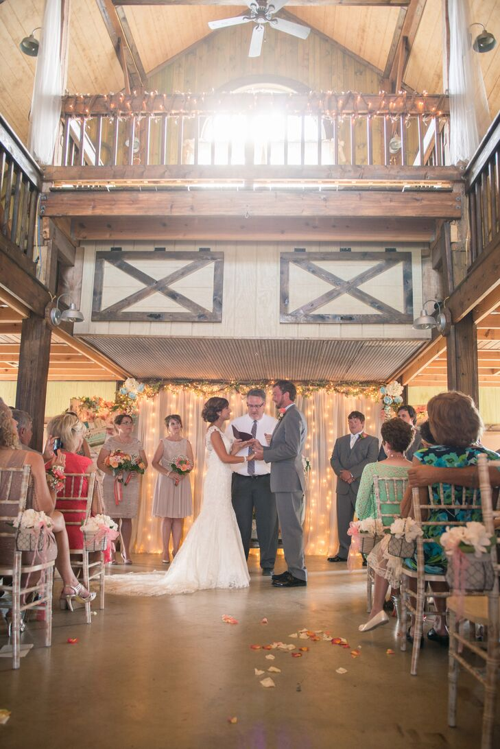 A Fair Barn  Wedding Ceremony