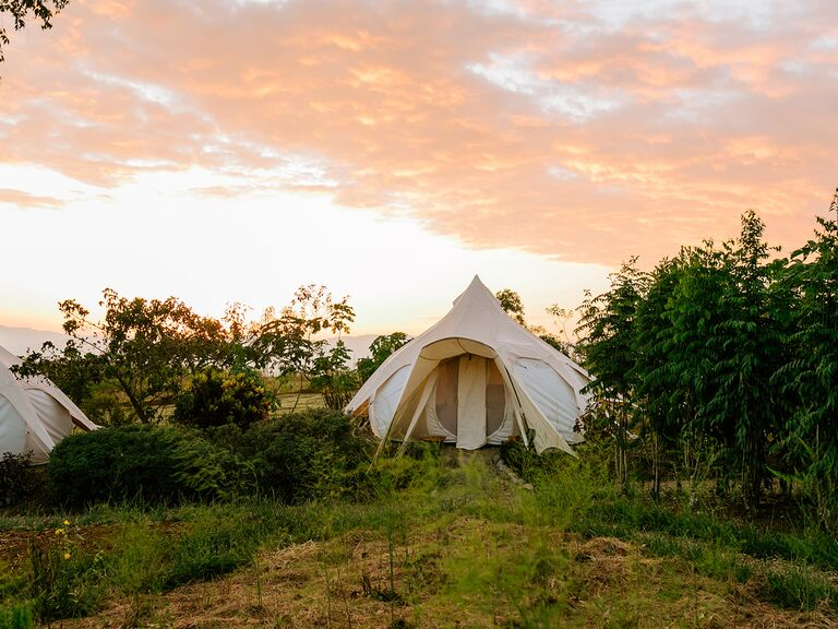 Eco-Friendly Glamping Tent