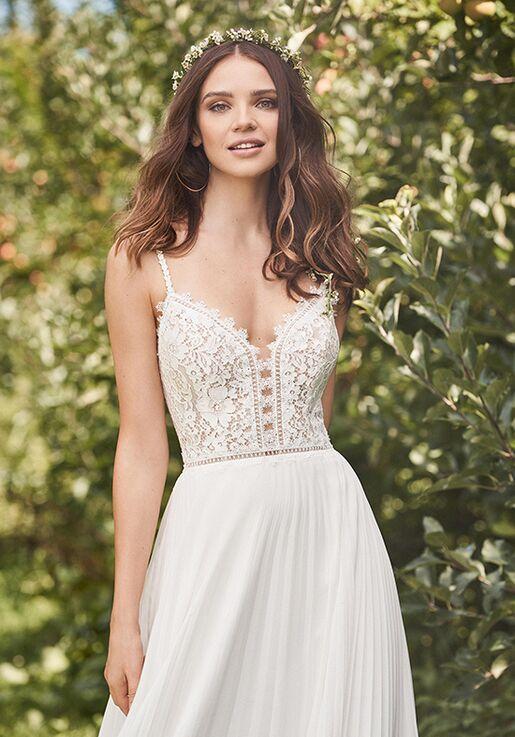 Lillian West 66125 A-Line Wedding Dress