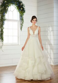 Essense of Australia D2520 Ball Gown Wedding Dress