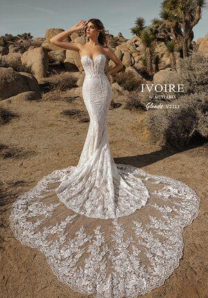 IVOIRE by KITTY CHEN GLENDA,V2111 Sheath Wedding Dress
