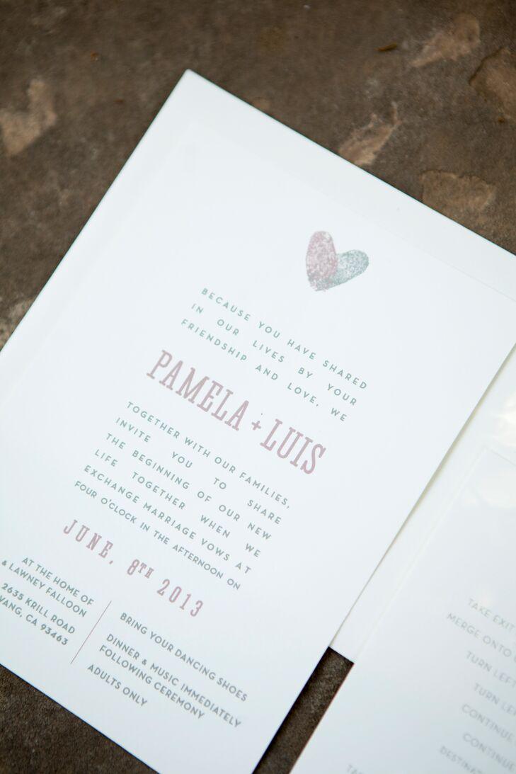 The Homemade Wedding Invitations