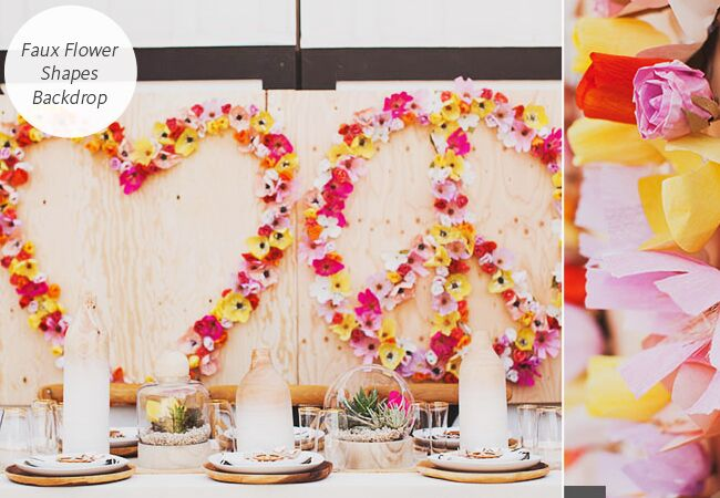 Beautiful Diy Backdrops For Your Photo Booth Ceremony And Reception