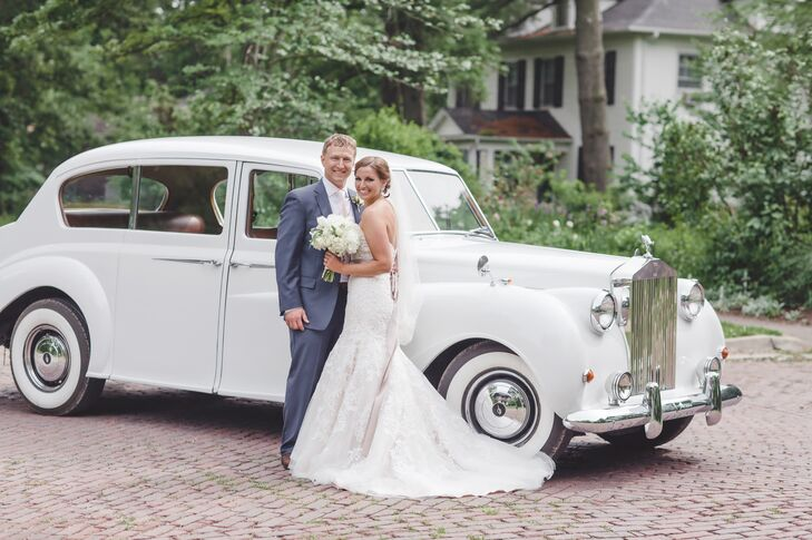 The inspiration for Tricia LaRocca (30 and a neonatal nurse) and David Morris's (30 and a clinical psychology PhD student) wedding came easily—it was