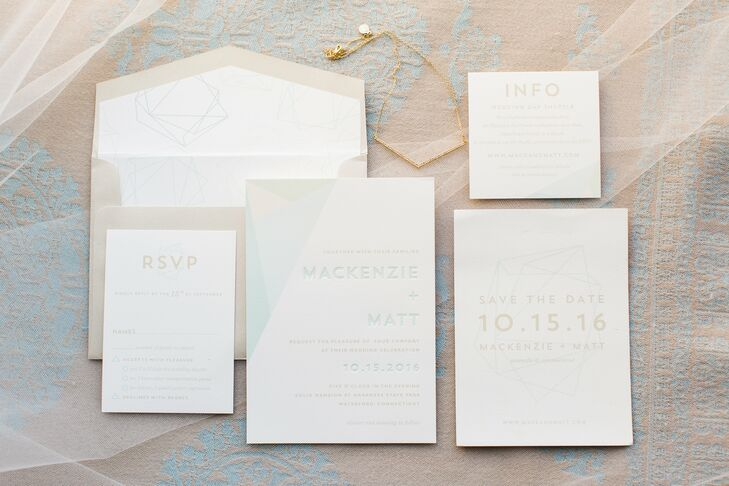 Ivory Custom Wedding Invitations