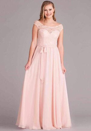 Kennedy Blue Lola Scoop Bridesmaid Dress