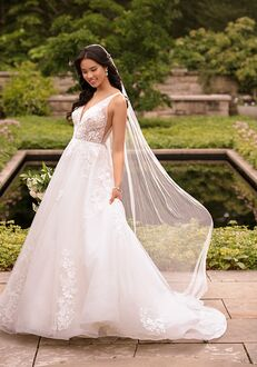 Essense of Australia D2845 Ball Gown Wedding Dress