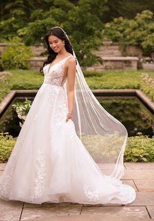 Essense of Australia D2845 Ball Gown Wedding Dress