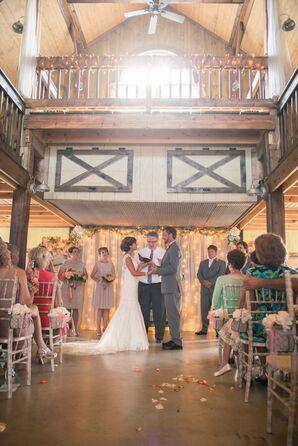 A Fair Barn  Wedding Ceremony