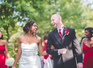 Cynthia Mars (28 and a human resources associate) and Michael Stackhouse (33 and an engineering analyst) had their version of a destination wedding at