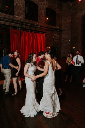 Brides Dancing at MyMoon in Brooklyn