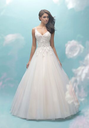 Allure Bridals 9459 A-Line Wedding Dress