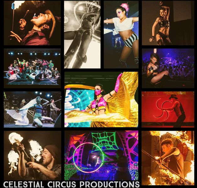 Celestial Circus Productions - Fire Dancer - Minneapolis, MN