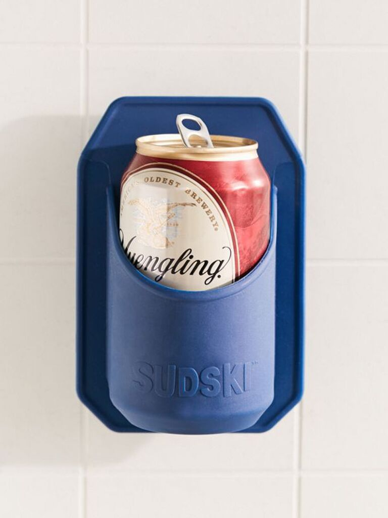 Shower beer holder for best man