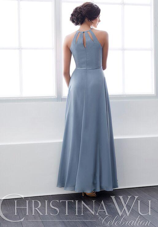 Christina Wu 22822 Halter Bridesmaid Dress