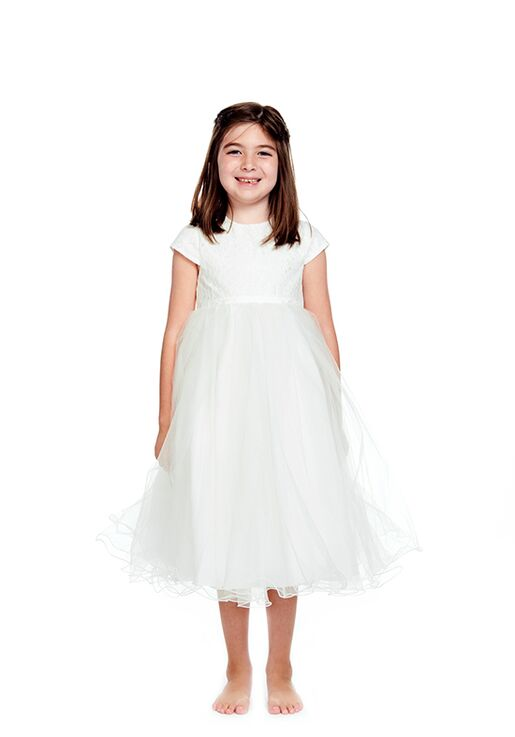 Bari Jay Flower Girls F0420 Ivory Flower Girl Dress