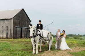 Horse and Carriage Bridal Entrance