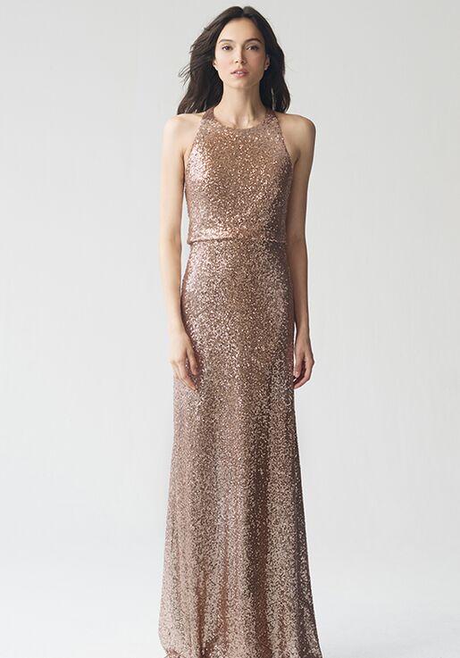 a07b6ddf13f Jenny Yoo Collection (Maids) Sloane  Hazel   1730 Bateau Bridesmaid Dress