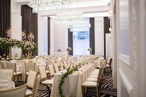 Elegant Reception Space at Kimpton Hotel Monaco Pittsburgh