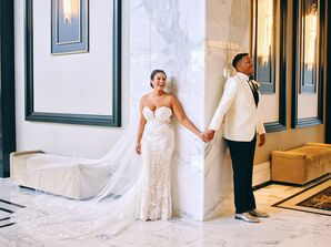First Touch at Houston, Texas, Wedding