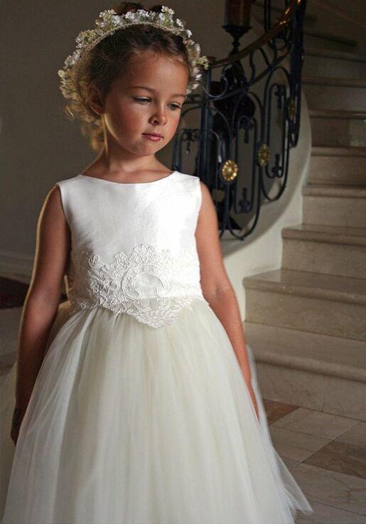 0d4dfb3a3e4 Isabel Garretón Enchanting Flower Girl Dress - The Knot