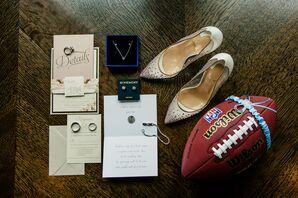 Glam Invitation Suite with Luxury Wedding Accessories