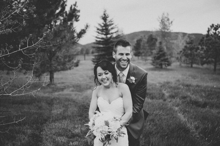 Madeline McBride (29 and an ob-gyn) and Matt Comneck (28 and works in medical device sales) wanted their wedding to be soft, beautiful, fresh and roma