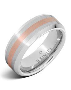 Serinium® Collection Endeavor — Serinium® and 14K Rose Gold Ring-RMSA002066 Serinium® Wedding Ring