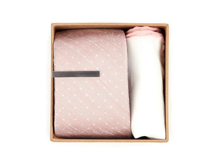 Groomsmen proposal tie gift box