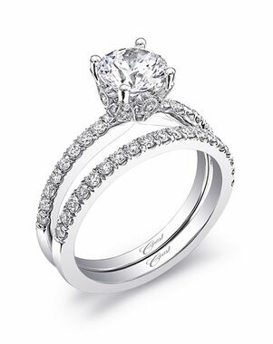 Coast Diamond Classic Round Cut Engagement Ring