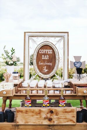 Coffee Bar, Handcrafted Signs