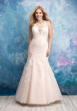 Allure Women W436 Mermaid Wedding Dress