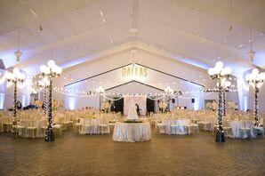 String-Lit Southfork Ranch Reception Hall