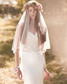 Mikaella by Paloma Blanca Veils Collection VM459F Ivory Headband