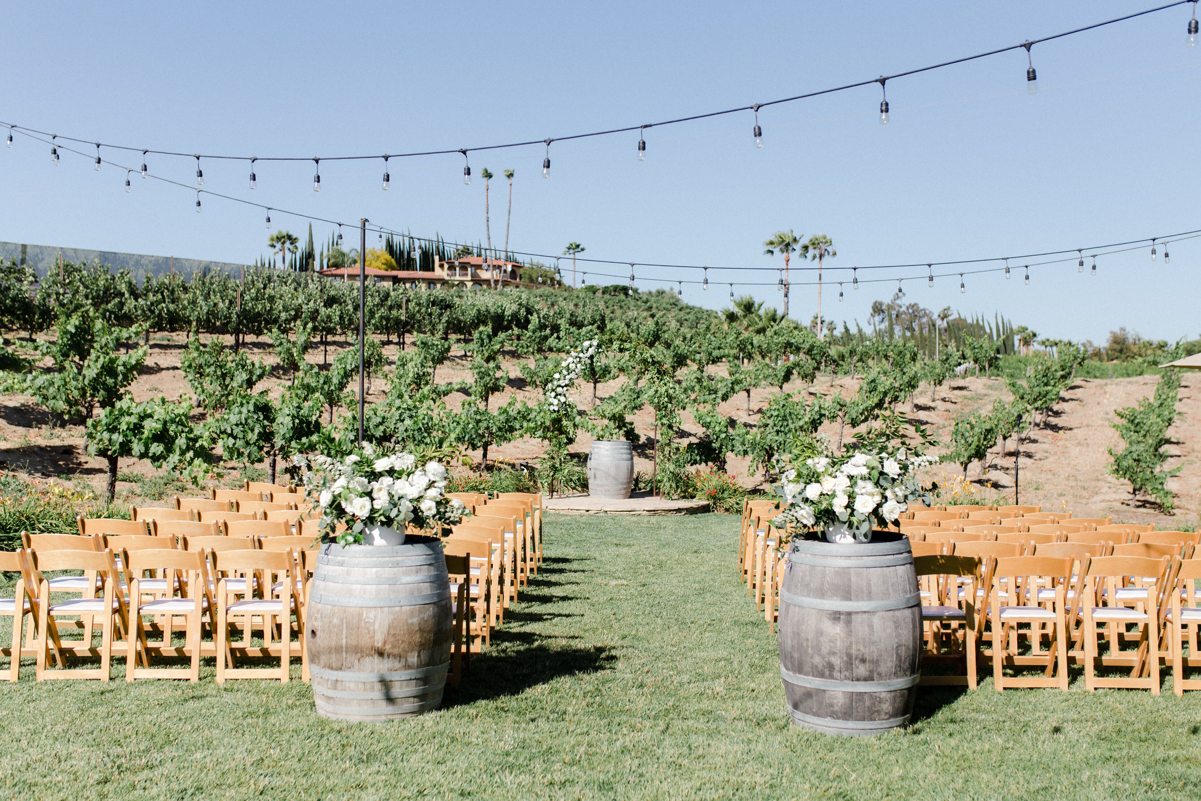 Wedding reception venues in temecula ca the knot europa village junglespirit Choice Image