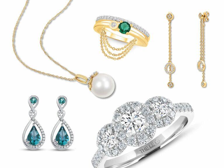 wedding jewelry from Kay Jewelers