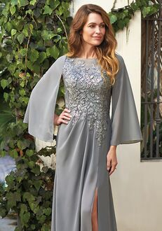 Jade Mother of the Bride by Jasmine J205067 Silver Mother Of The Bride Dress