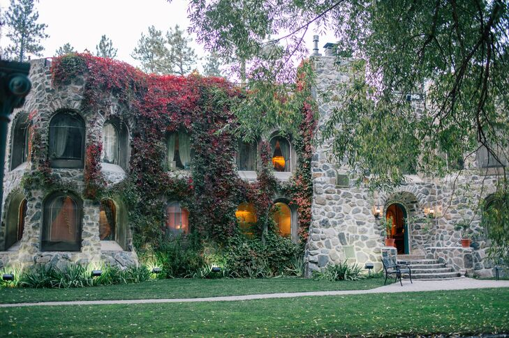 Dunafon Castle in Idledale, Colorado wedding venue