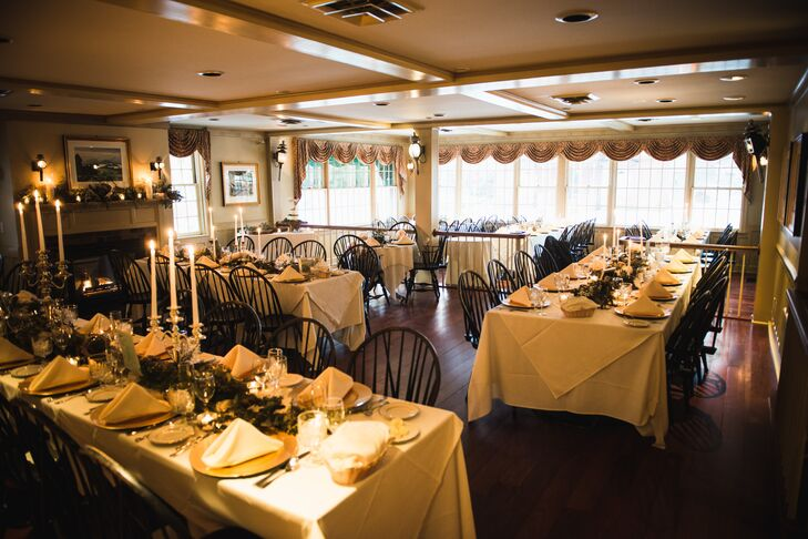 """On our first visit to The Green Mountain Inn, we both knew this was where we wanted to celebrate this special day,"" Jeannine says. ""The staff was welcoming and accommodating, and we knew our wedding would be everything we wanted it to be here, and it was."""