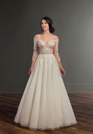 Martina Liana Brena + Sabene A-Line Wedding Dress