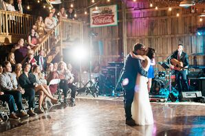 The Red Barn Dance Floor
