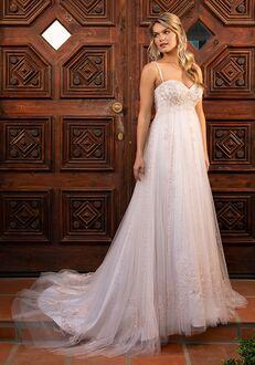 Casablanca Bridal 2381 Demi Ball Gown Wedding Dress