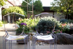 Contemporary Ghost Reception Chairs