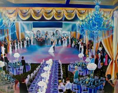 Live Event Paintings by Pasha