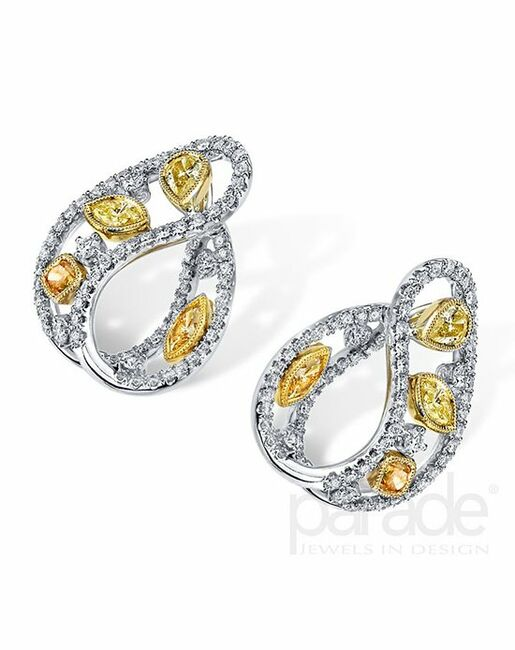 Parade Designs HE3287 from the Reverie Collection Wedding Earrings photo