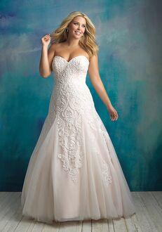Allure Bridals W417 A-Line Wedding Dress