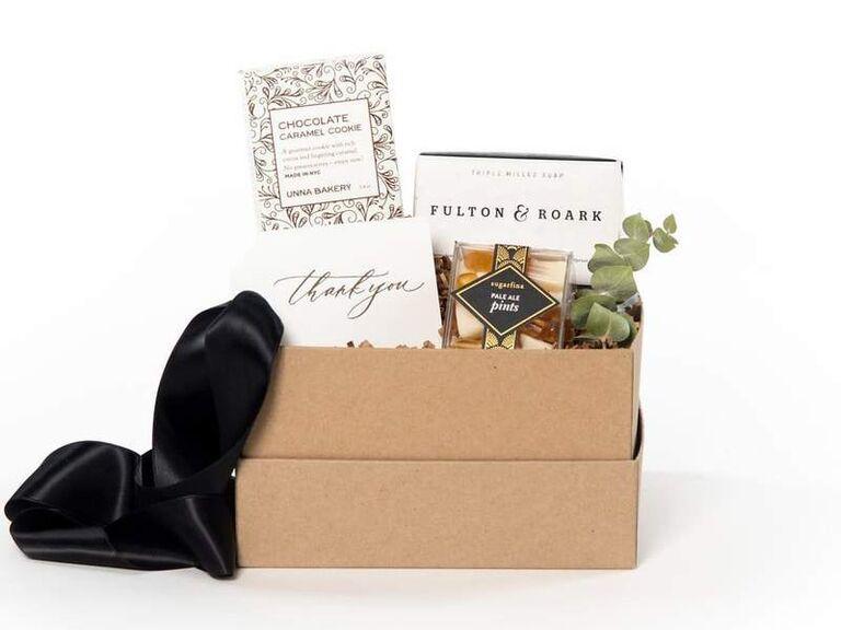 Thank you groomsmen gift box