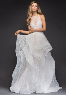 Hayley Paige 6810-Mercury Ball Gown Wedding Dress
