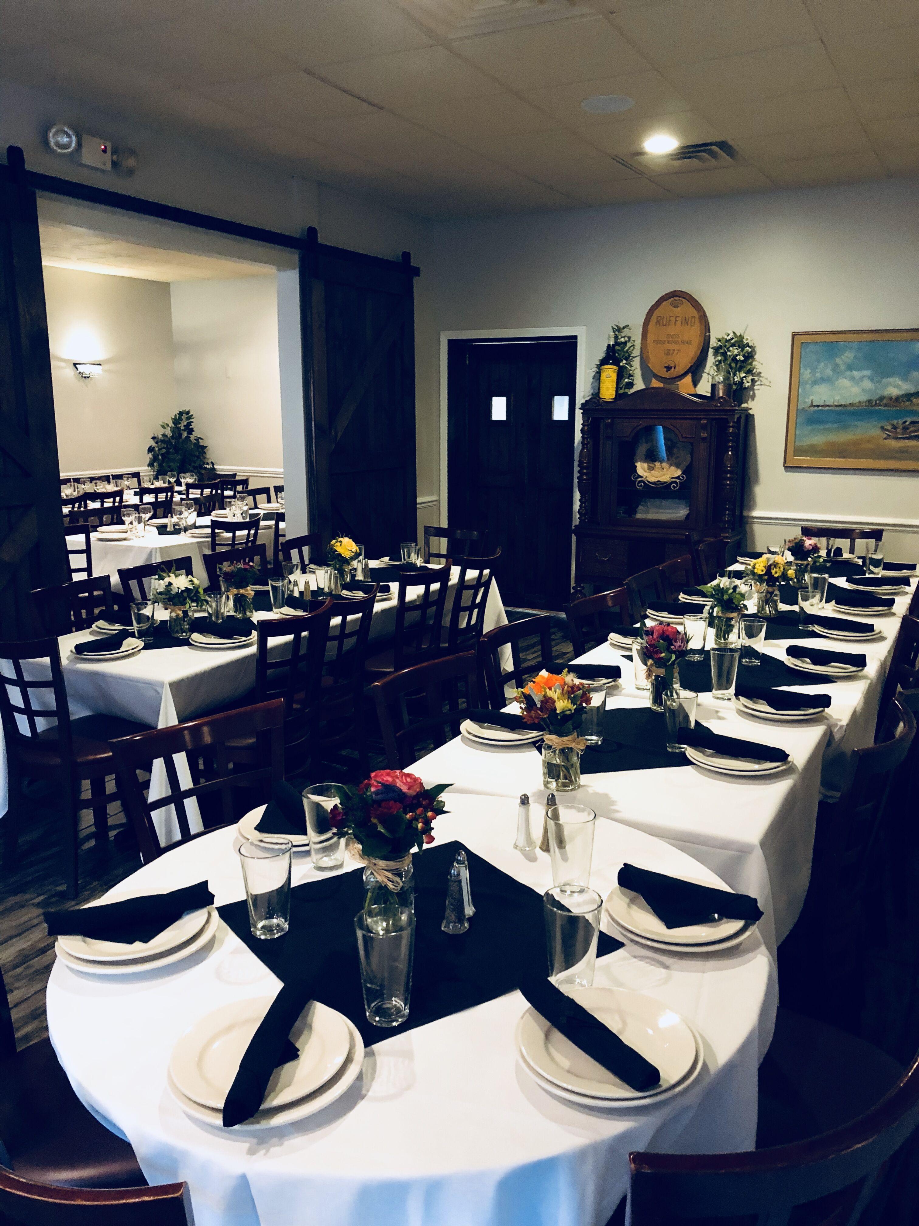 Portofino S Restaurant Rehearsal Dinners Bridal Showers