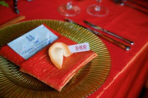 Fortune Cookies As Place Cards